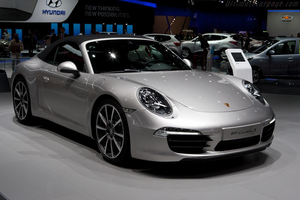 Porsche 911 Carrera S    - 2012 Geneva International Motor Show