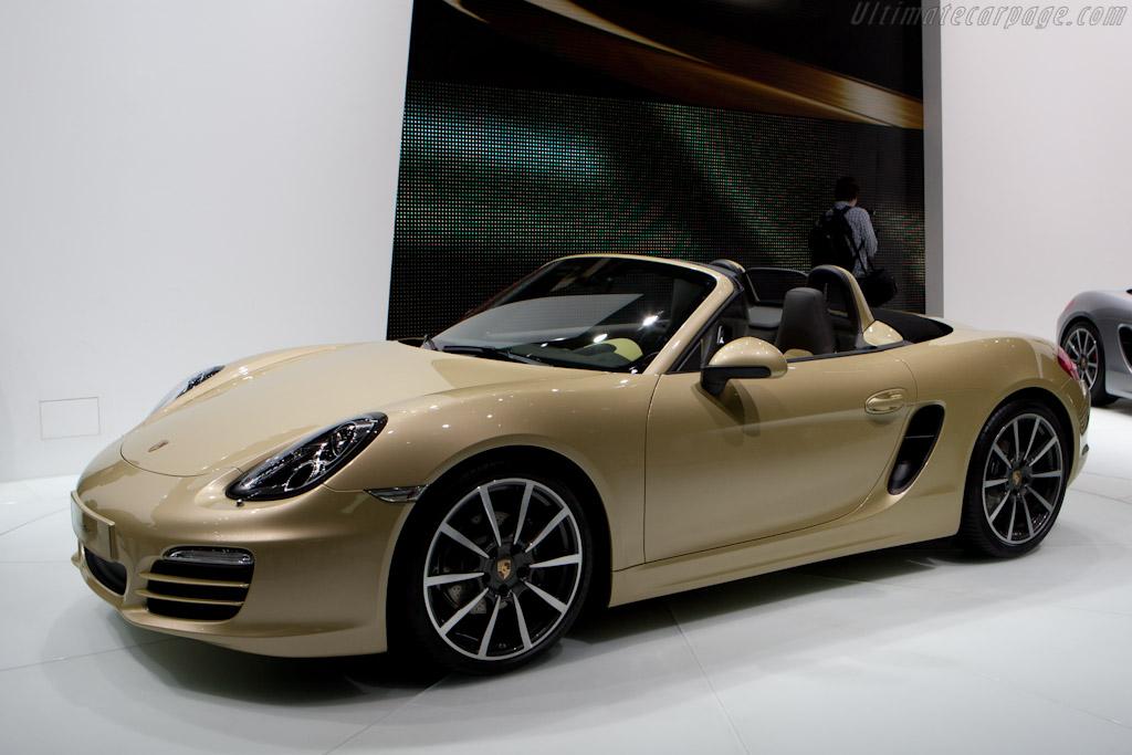Porsche Boxster    - 2012 Geneva International Motor Show