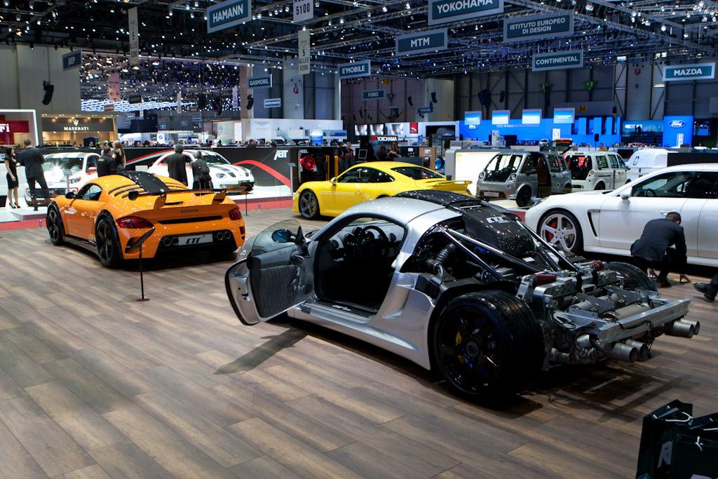 RUF CTR-3 Clubsport    - 2012 Geneva International Motor Show