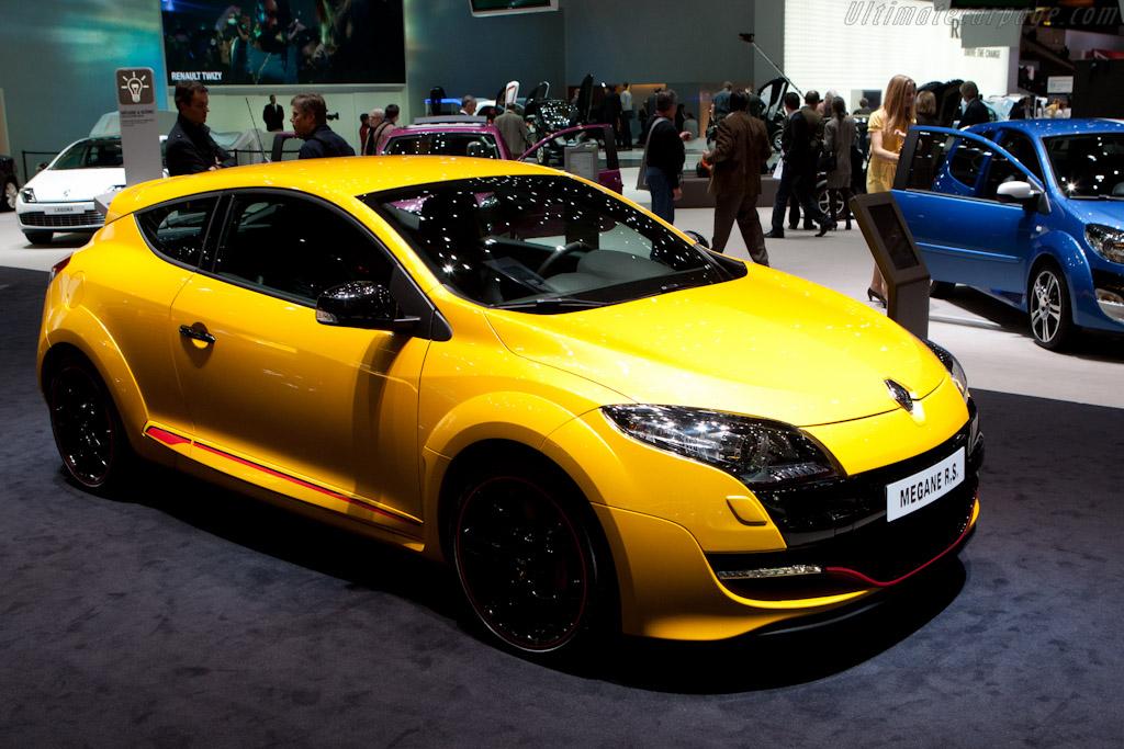 Renault Megane RS    - 2012 Geneva International Motor Show