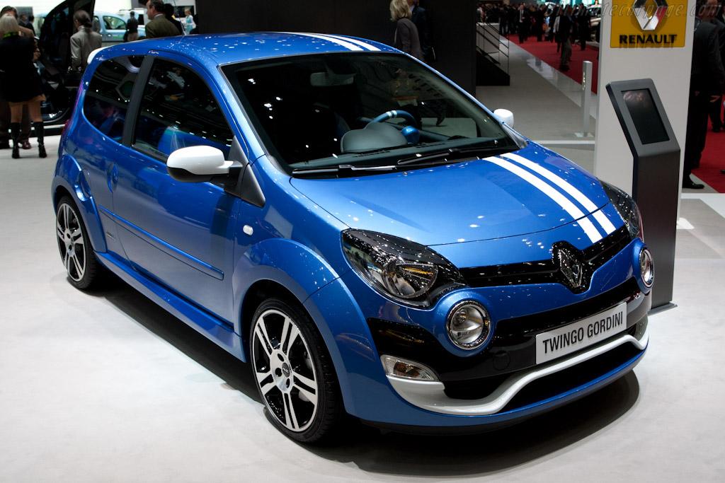 Renault Twingo Gordini    - 2012 Geneva International Motor Show