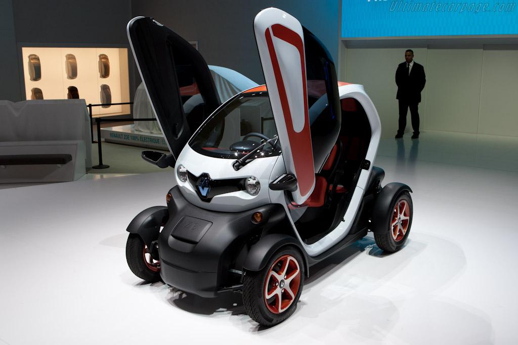 Renault Twizy    - 2012 Geneva International Motor Show