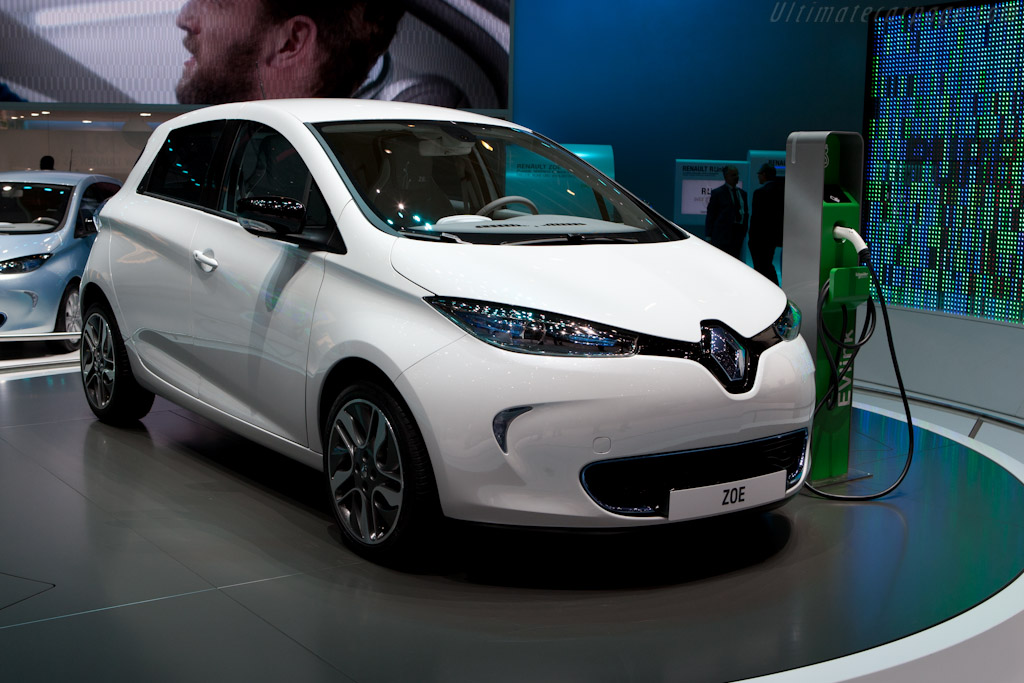 Renault Zoe    - 2012 Geneva International Motor Show
