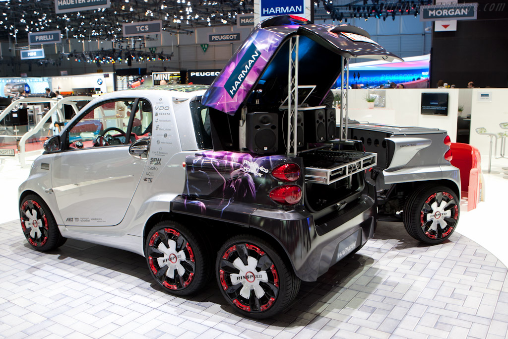 Rinspeed Dock+Go Concept    - 2012 Geneva International Motor Show