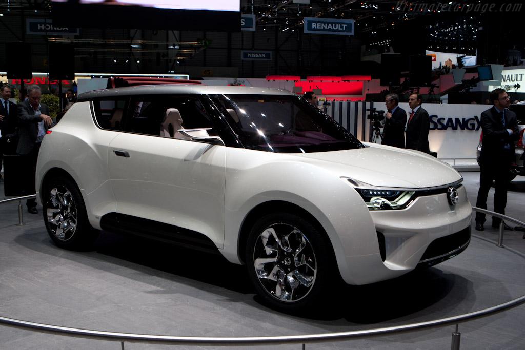 Ssangyong XIV Concept    - 2012 Geneva International Motor Show