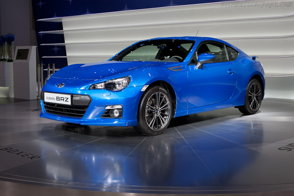 Subaru BRZ    - 2012 Geneva International Motor Show
