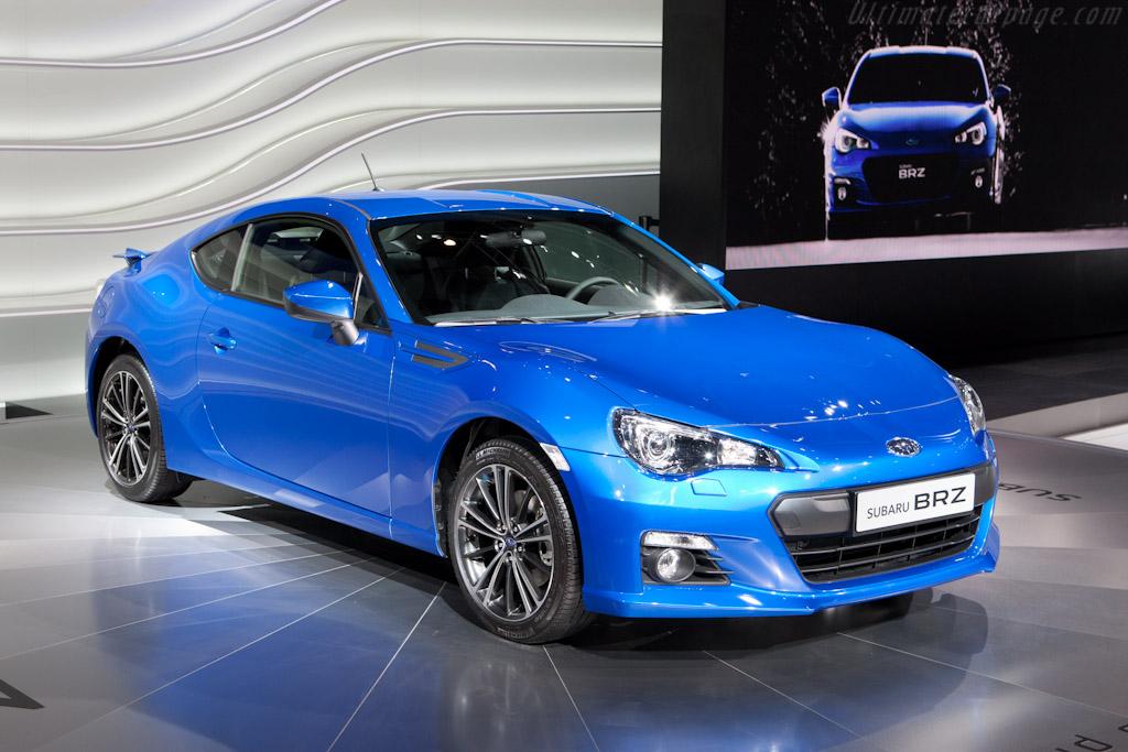 Subaru BRZ    - 2012 Geneva International Motor Show