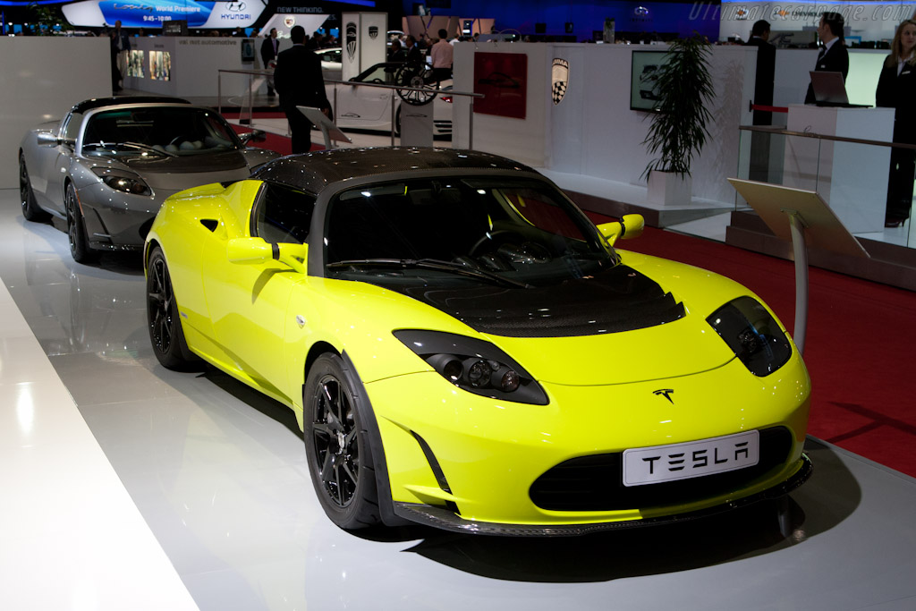 Tesla Roadster    - 2012 Geneva International Motor Show