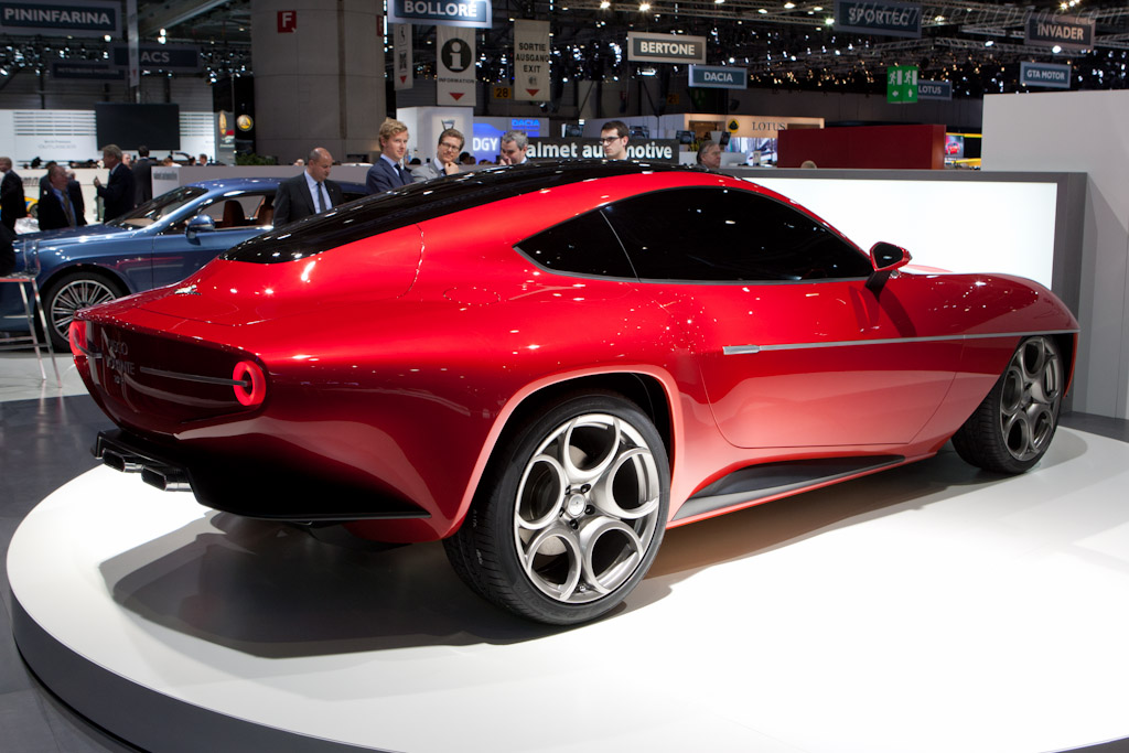 Touring Disco Volante 2012    - 2012 Geneva International Motor Show