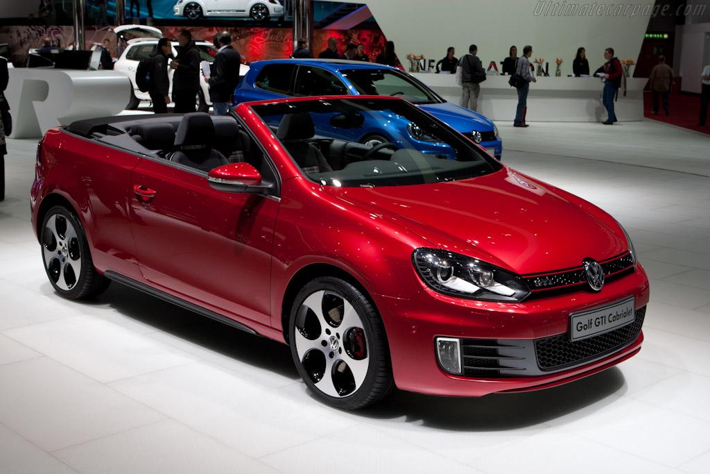Volkswagen Golf Cabriolet GTI    - 2012 Geneva International Motor Show