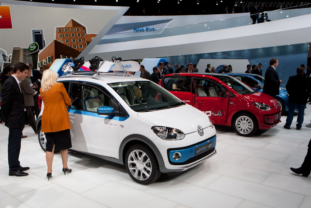 Volkswagen Winter Up!    - 2012 Geneva International Motor Show