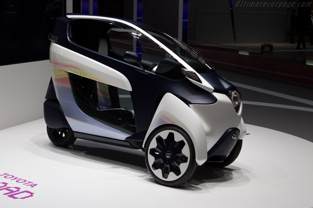 Why the Toyota i-ROAD and Lit Motors C-1 are important: