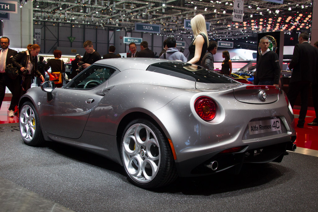 Alfa Romeo 4C    - 2013 Geneva International Motor Show