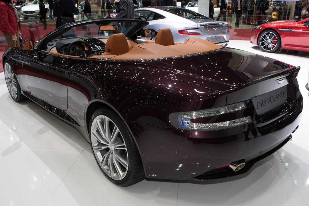 Aston Martin DB9 Volante    - 2013 Geneva International Motor Show