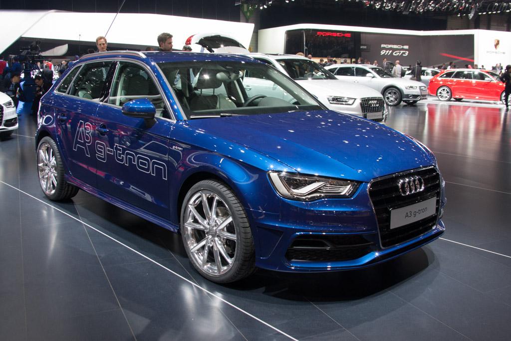 Audi A3 g-tron    - 2013 Geneva International Motor Show