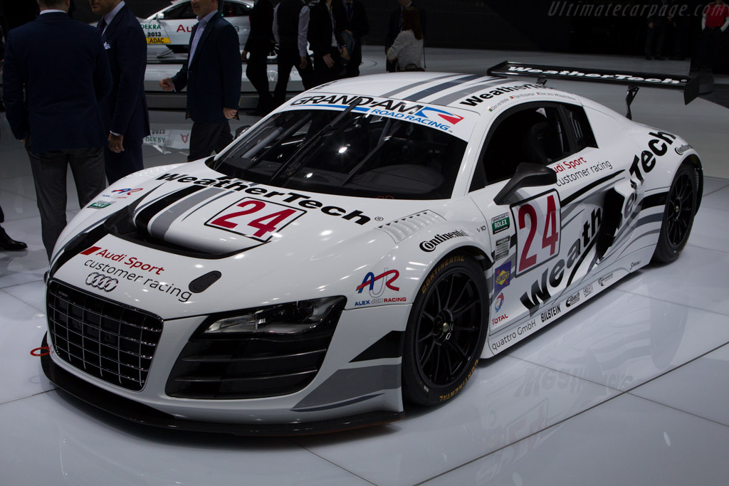 Audi R8 LMS GrandAm    - 2013 Geneva International Motor Show