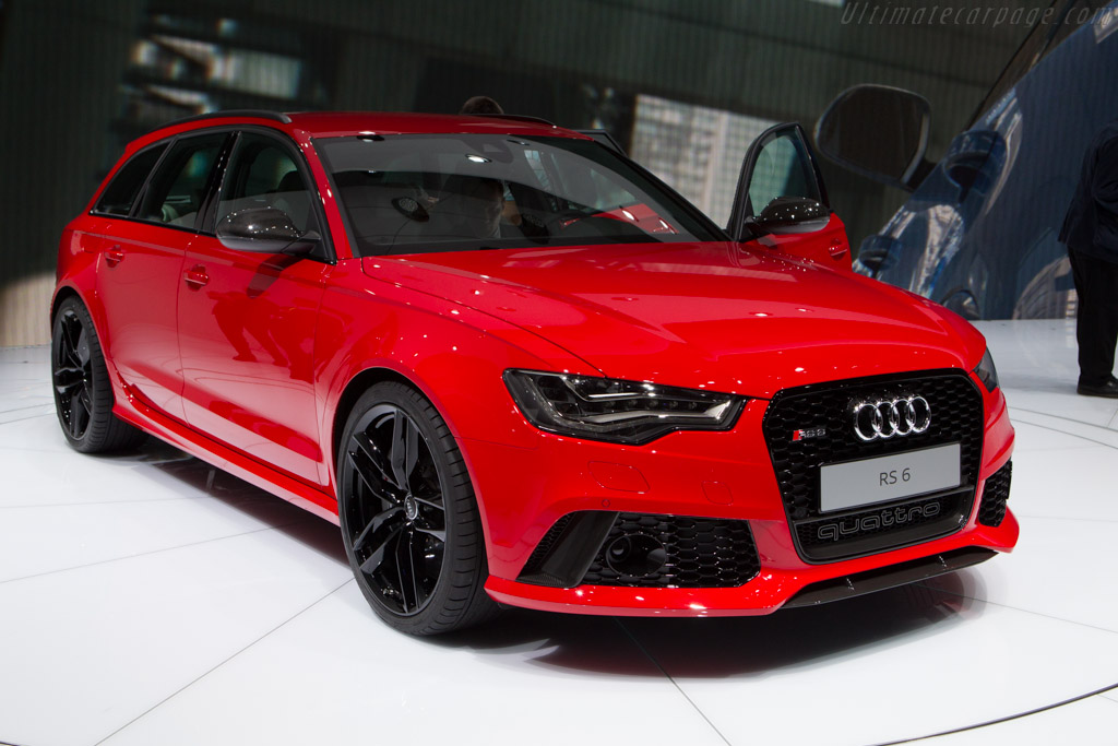 Audi RS 6    - 2013 Geneva International Motor Show