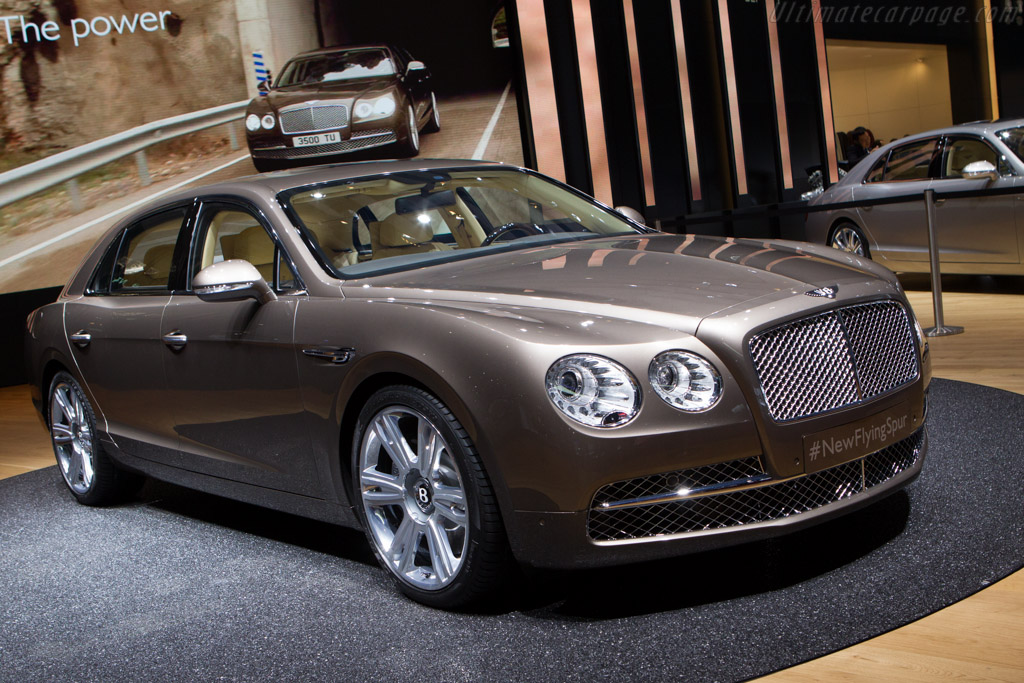 Bentley Continental Flying Spur    - 2013 Geneva International Motor Show