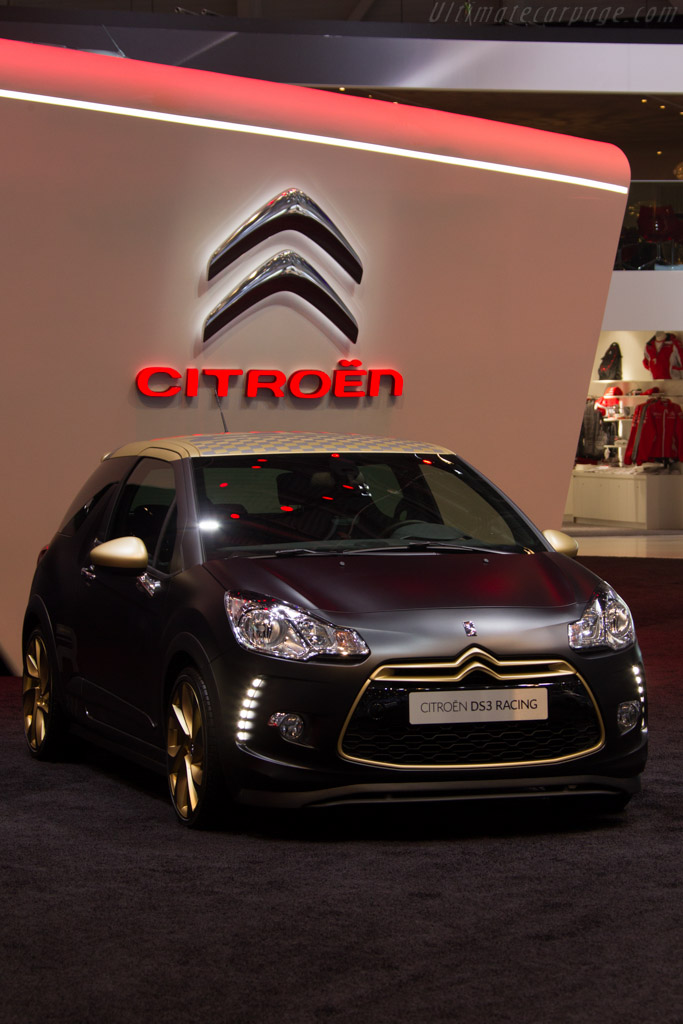 Citroën DS3 Racing    - 2013 Geneva International Motor Show