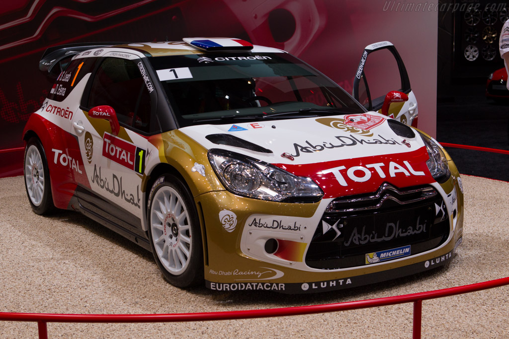 Citroën DS3 WRC    - 2013 Geneva International Motor Show