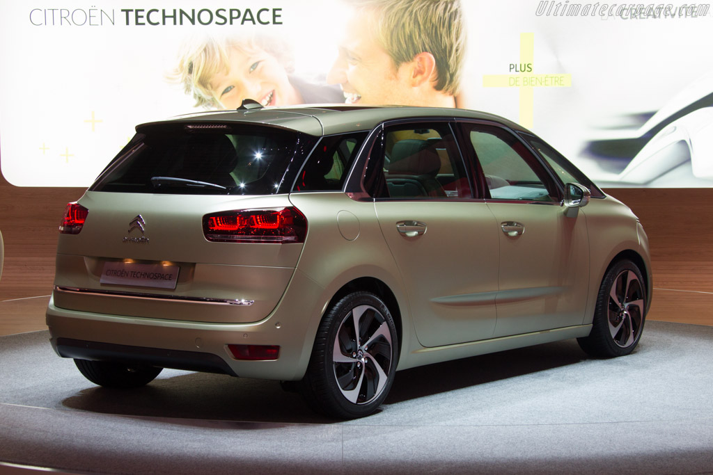 Citroën Technospace Concept    - 2013 Geneva International Motor Show