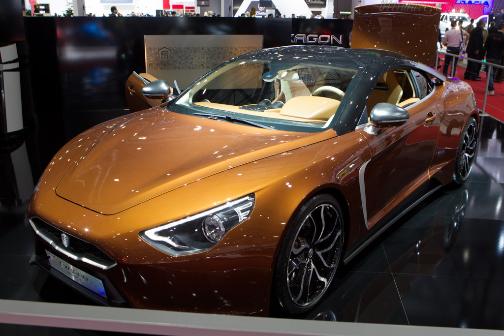 Exagon FurtiveGT    - 2013 Geneva International Motor Show