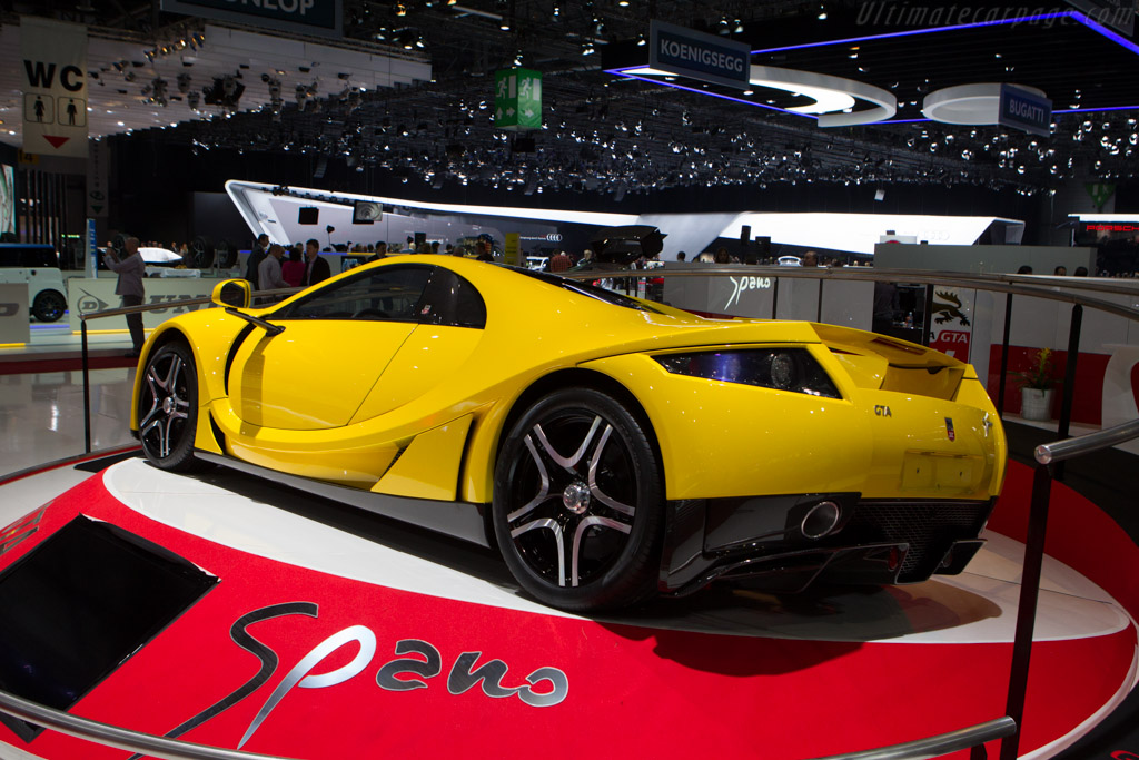 GTA Spano    - 2013 Geneva International Motor Show