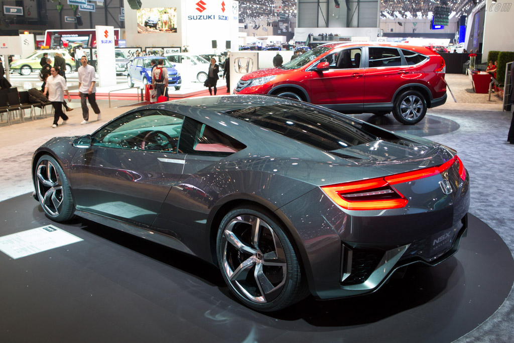 Honda NSX Concept    - 2013 Geneva International Motor Show