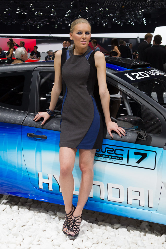 Hyundai i20 WRC    - 2013 Geneva International Motor Show
