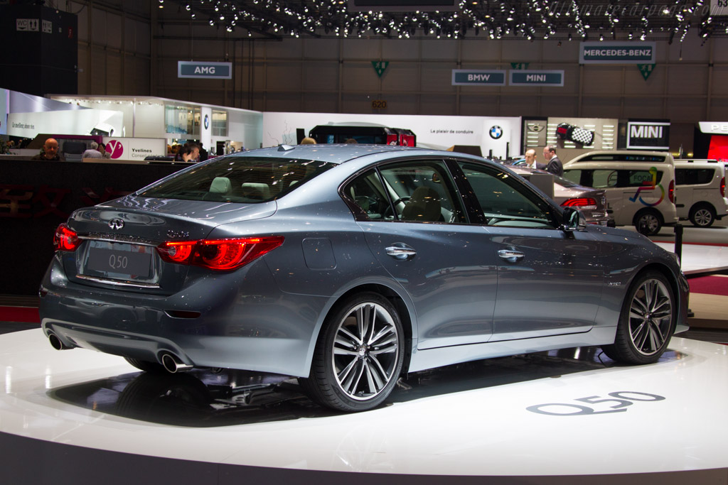 Infiniti Q50    - 2013 Geneva International Motor Show