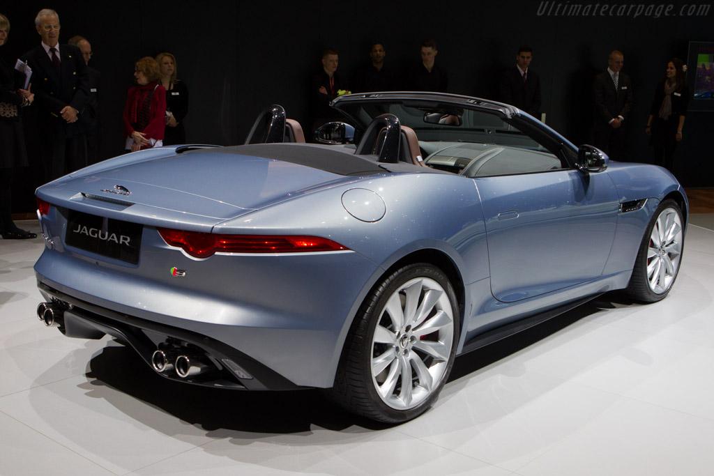 Jaguar F-Type    - 2013 Geneva International Motor Show