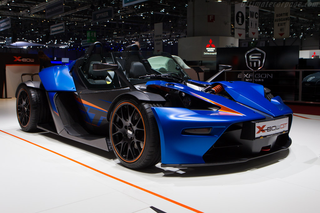 KTM X-Bow GT    - 2013 Geneva International Motor Show