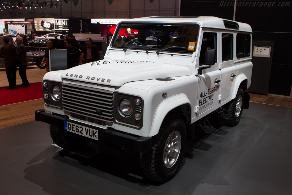 Land Rover Electric    - 2013 Geneva International Motor Show