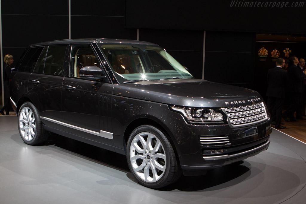 Land Rover Range Rover    - 2013 Geneva International Motor Show