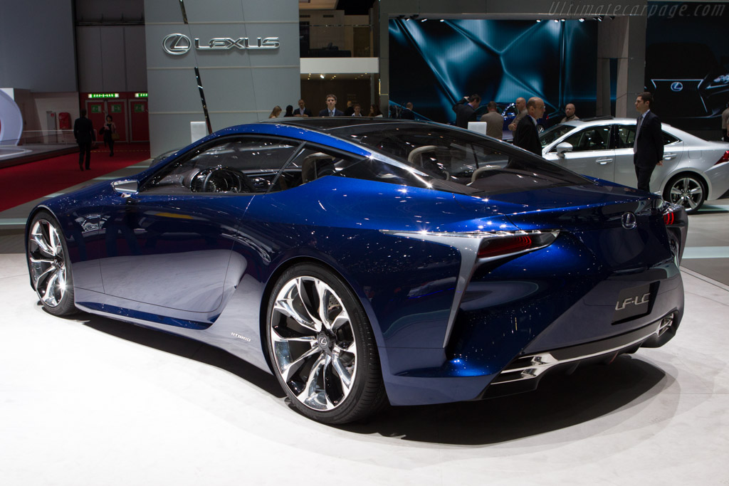 Lexus LF-LC    - 2013 Geneva International Motor Show