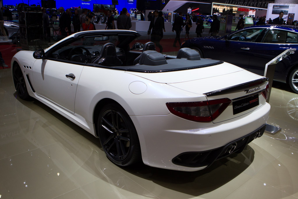 Maserati GranCabrio MC    - 2013 Geneva International Motor Show