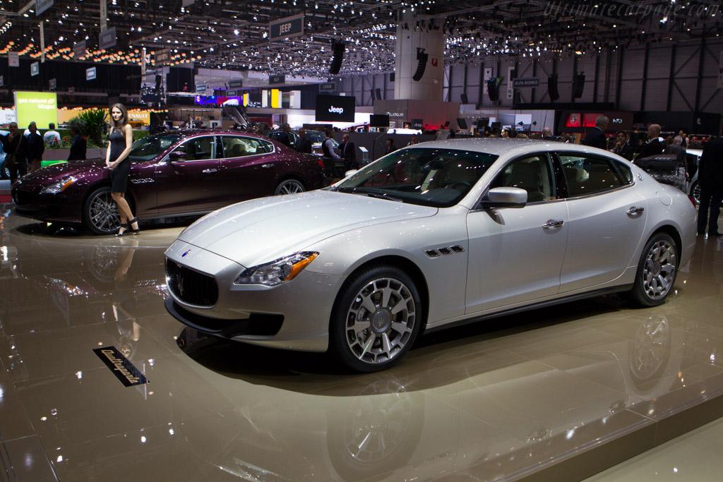 Maserati Quattroporte    - 2013 Geneva International Motor Show