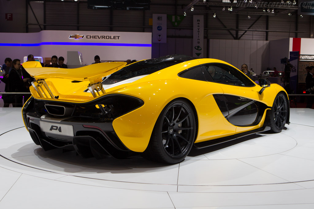 McLaren P1    - 2013 Geneva International Motor Show