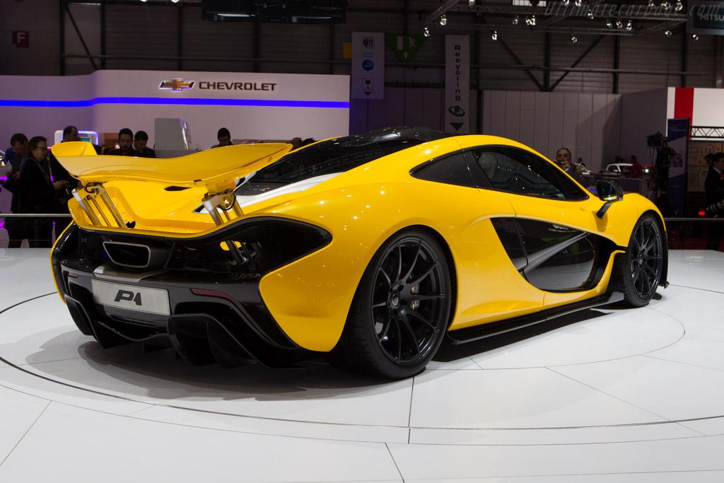 McLaren P1    - 2013 Geneva International Motor Show