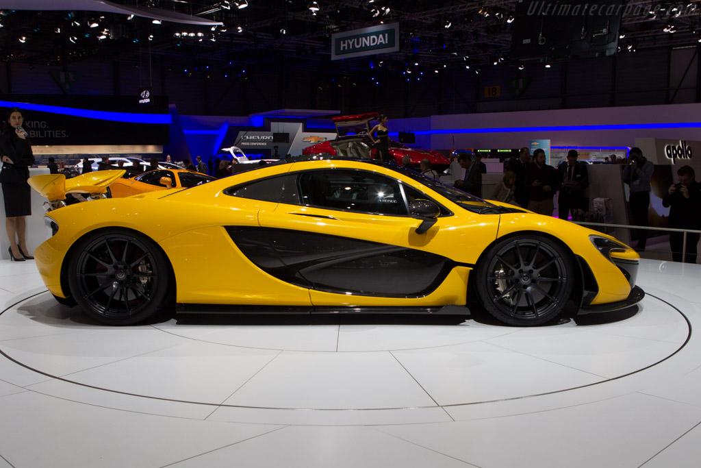 McLaren P1 - Chassis: XP11   - 2013 Geneva International Motor Show