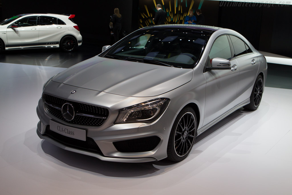 Mercedes-Benz CLA    - 2013 Geneva International Motor Show