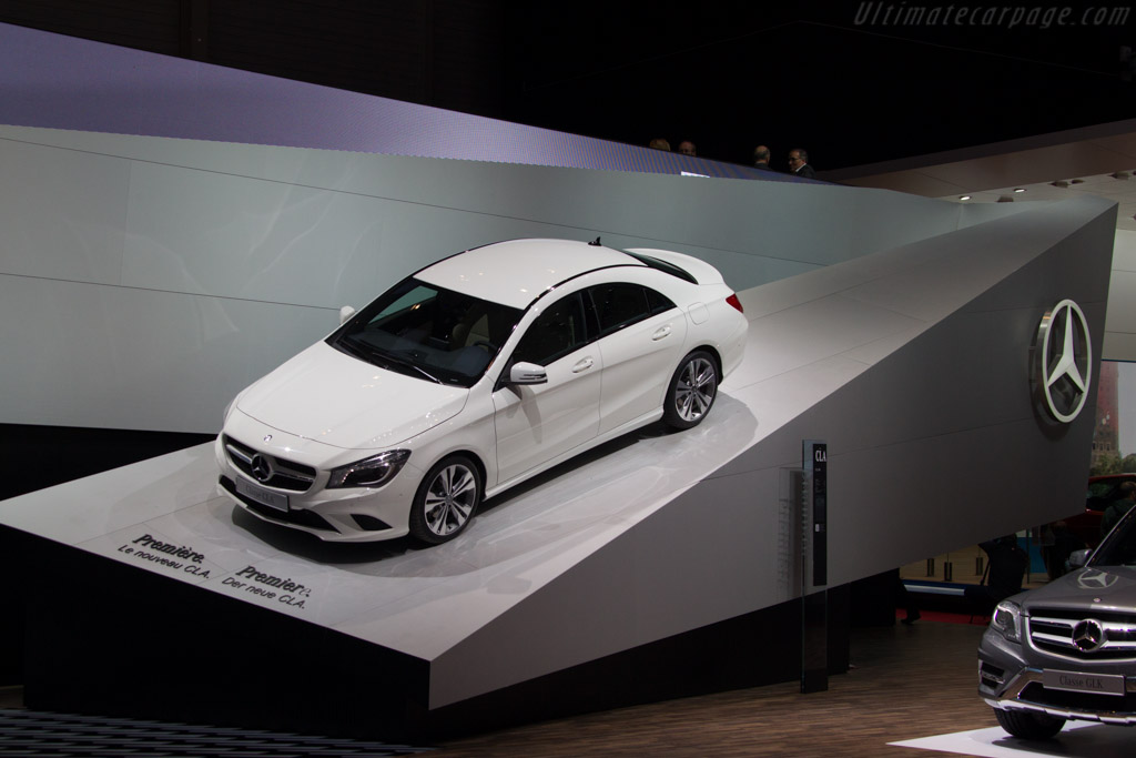 Mercedes-Benz CLA    - 2013 Geneva International Motor Show