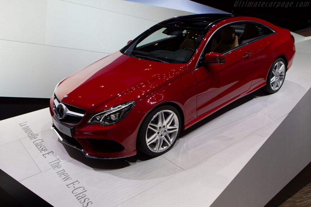 Mercedes-Benz E-Class Coupe    - 2013 Geneva International Motor Show