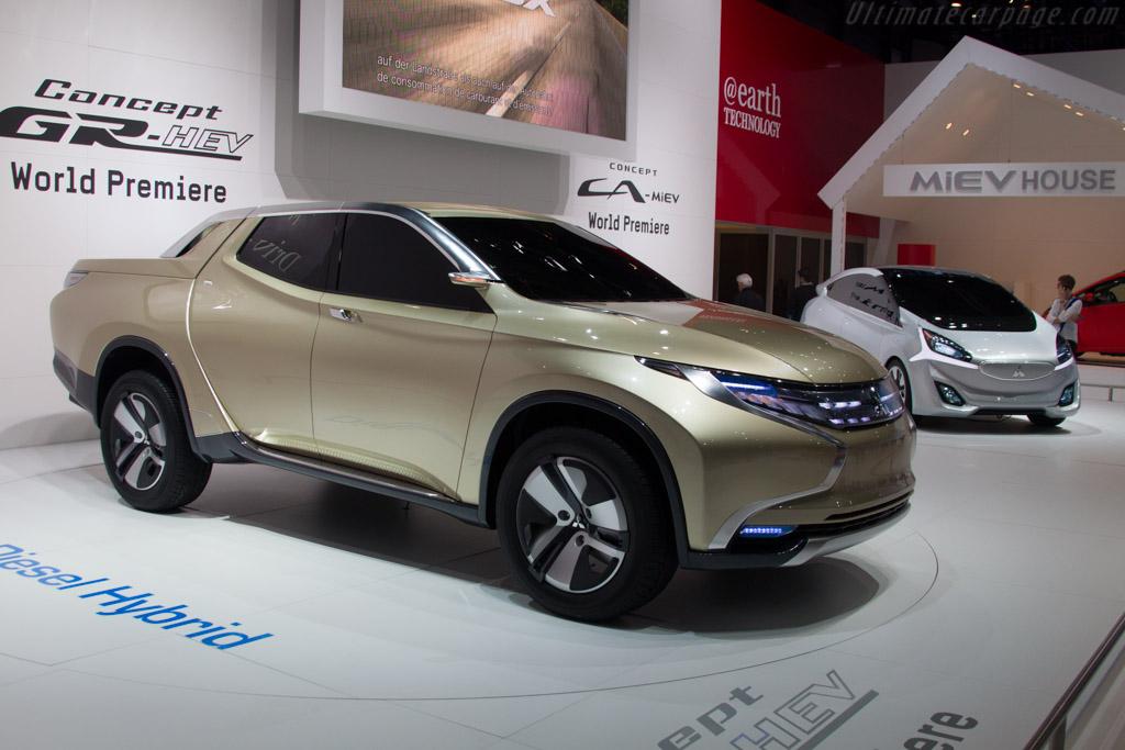 Mitsubishi GR-HEV Concept    - 2013 Geneva International Motor Show