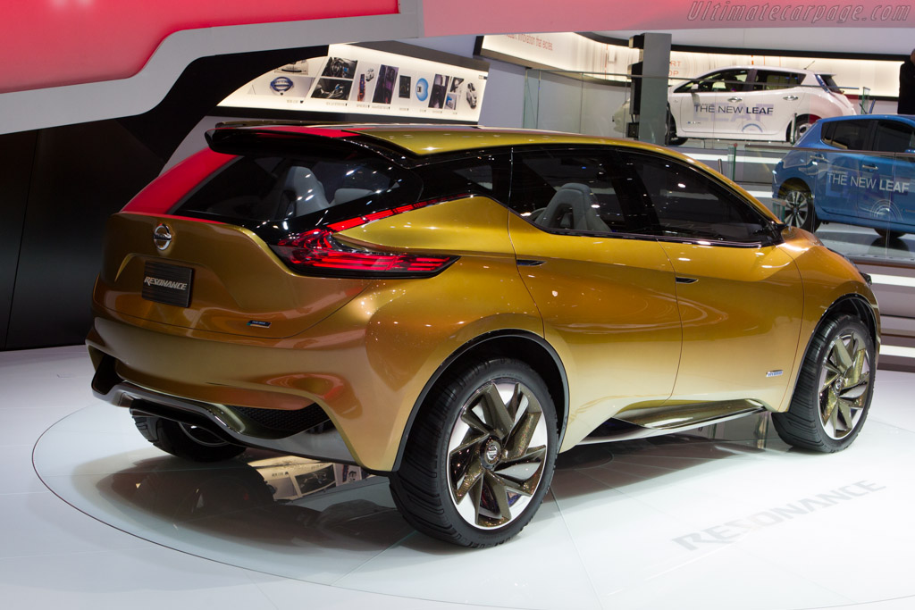 Nissan Resonance Concept    - 2013 Geneva International Motor Show