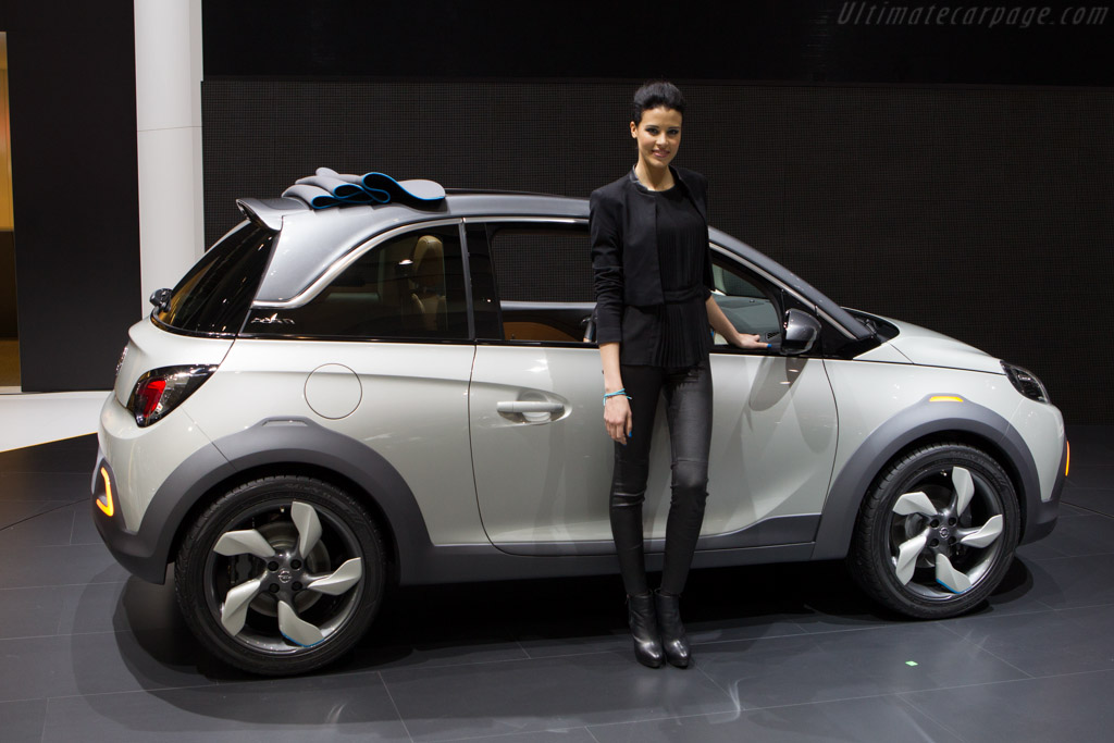 Opel Adam Rocks    - 2013 Geneva International Motor Show