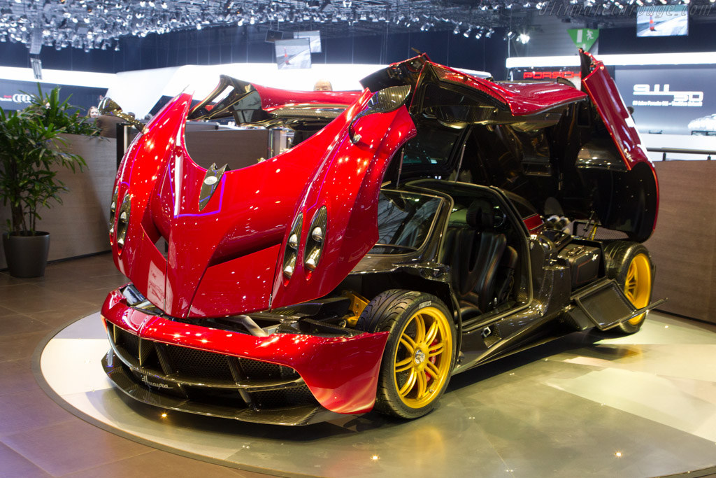 Pagani Huayra - Chassis: ZA9H11EAYYSF76007   - 2013 Geneva International Motor Show