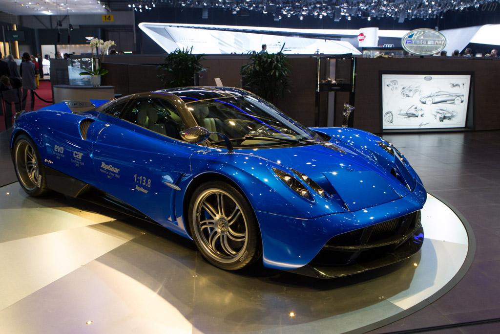 Pagani Huayra - Chassis: ZA9H11RAYYSF76001   - 2013 Geneva International Motor Show