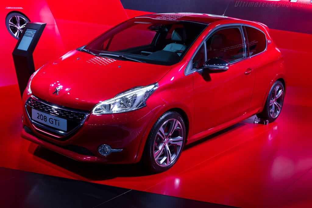 Peugeot 208 GTi    - 2013 Geneva International Motor Show