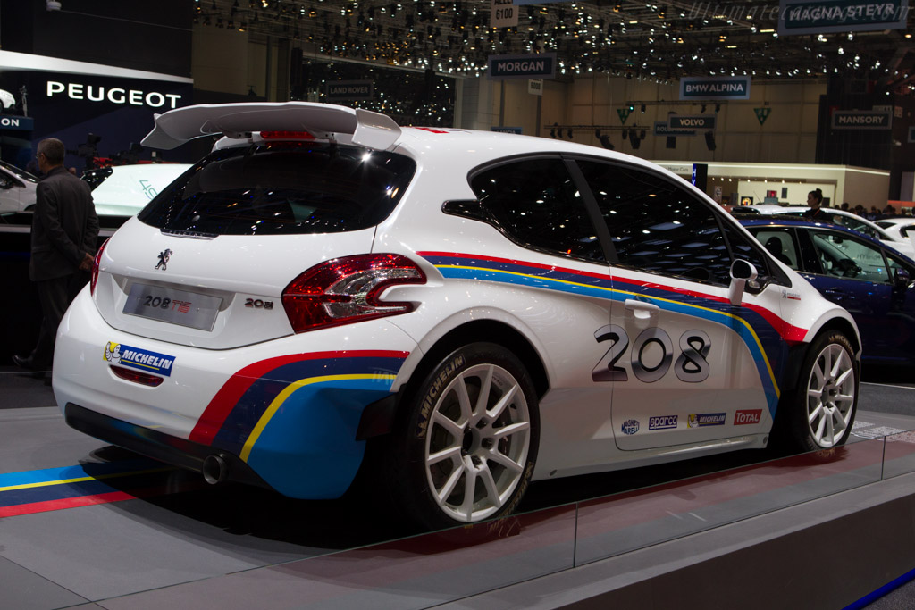 Peugeot 208 T16    - 2013 Geneva International Motor Show